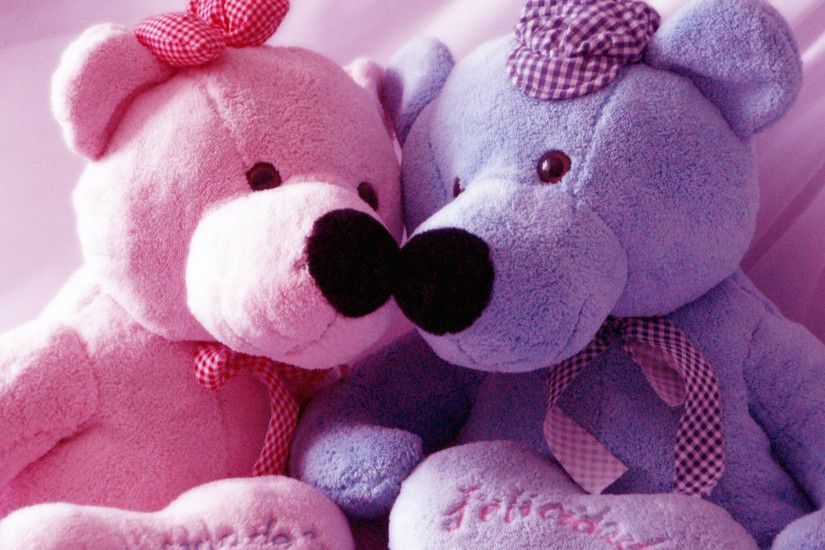Cute Pink Teddy Bear Wallpapers For Desktop.