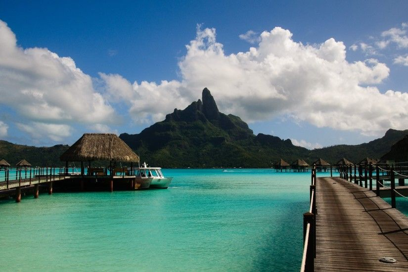 Wallpaper 4: Le Meridien Bora Bora. Ultra HD 4K 3840x2160