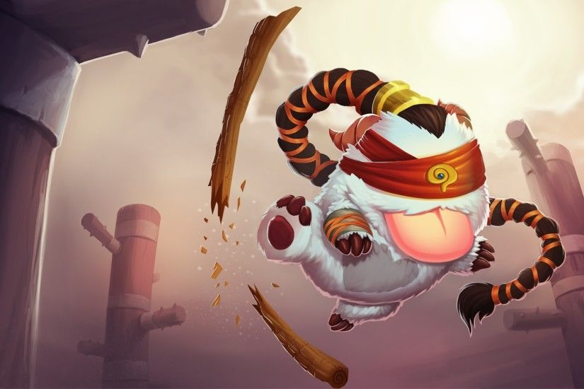 1920x1080 Wallpaper league of legends, poro, lee sin