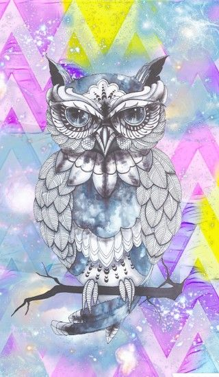 Cute owl girly by Rose