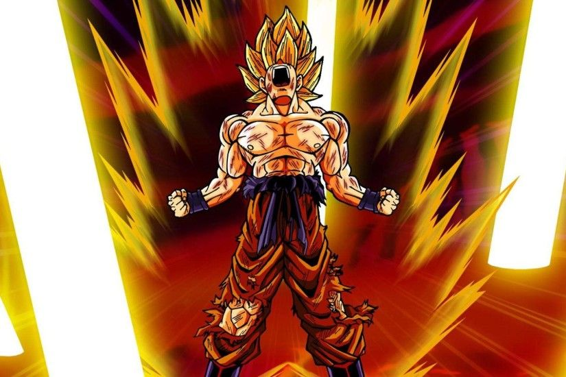 Dragon Ball Z Son Goku Super Saiyan