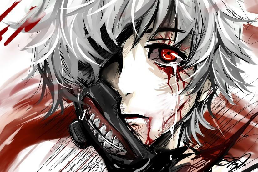 widescreen kaneki wallpaper 2560x1600