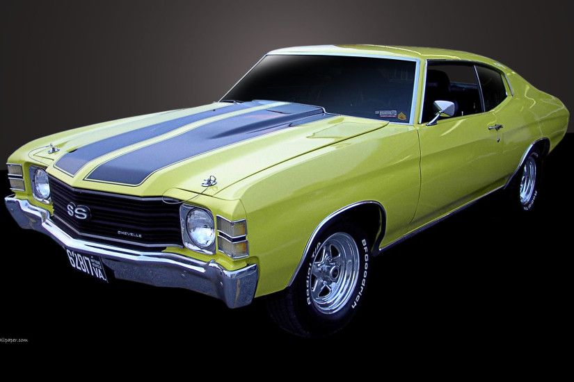 1971 Chevelle SS - Left Side View | 1920_08