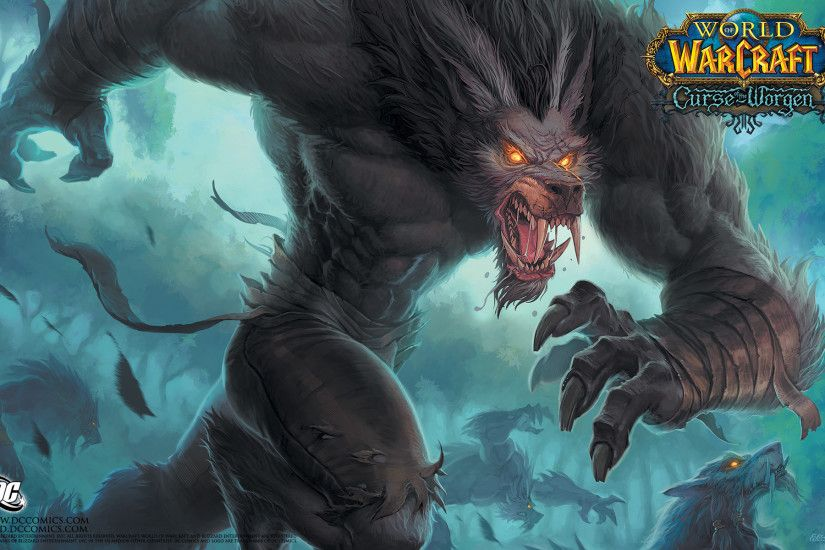 Comics - World Of Warcraft: The Curse Of Worgen Wallpaper