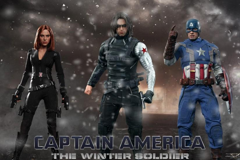 America - The Winter Soldier - Hot Toys Full HD Wallpaper | DC .