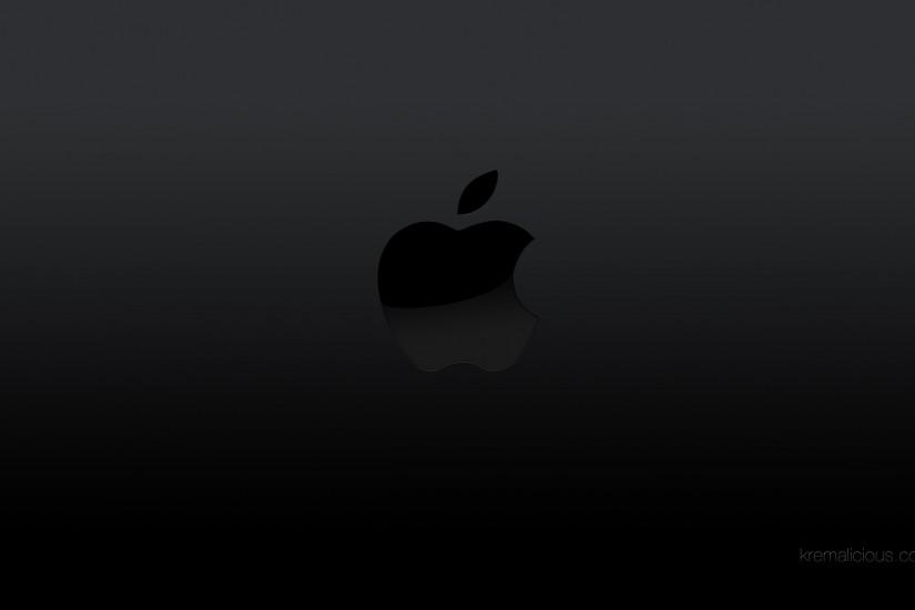 Apple Black and White Wide Wallpapers