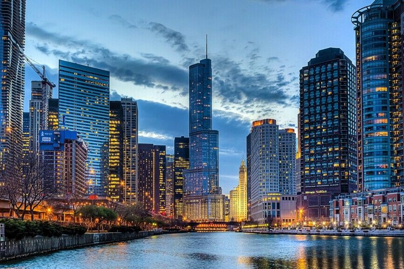 Chicago Skyline Desktop Background