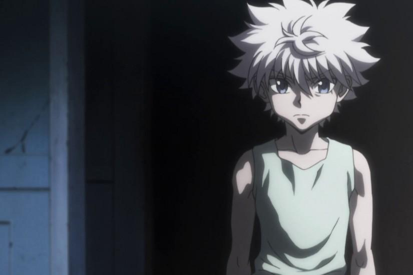 Killua deduces that Pitou is like a mother protecting her cub.