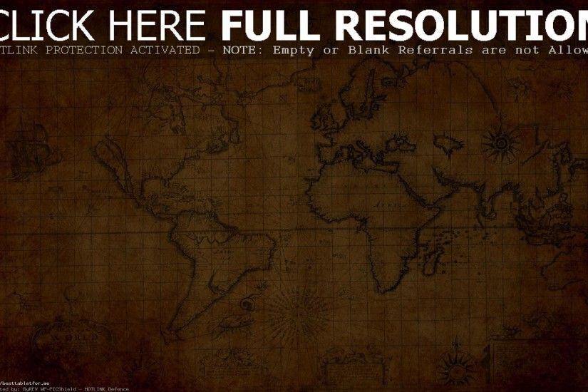 World Map Wallpapers For Old Wallpaper