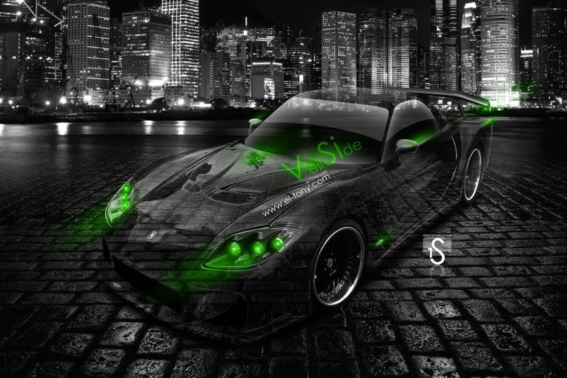 Mazda RX7 Veilside Bodykit JDM Crystal City Car 2014 | El Tony