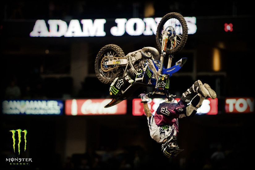 Take a look at these cool Monster Energy wallpapers from the X Games.