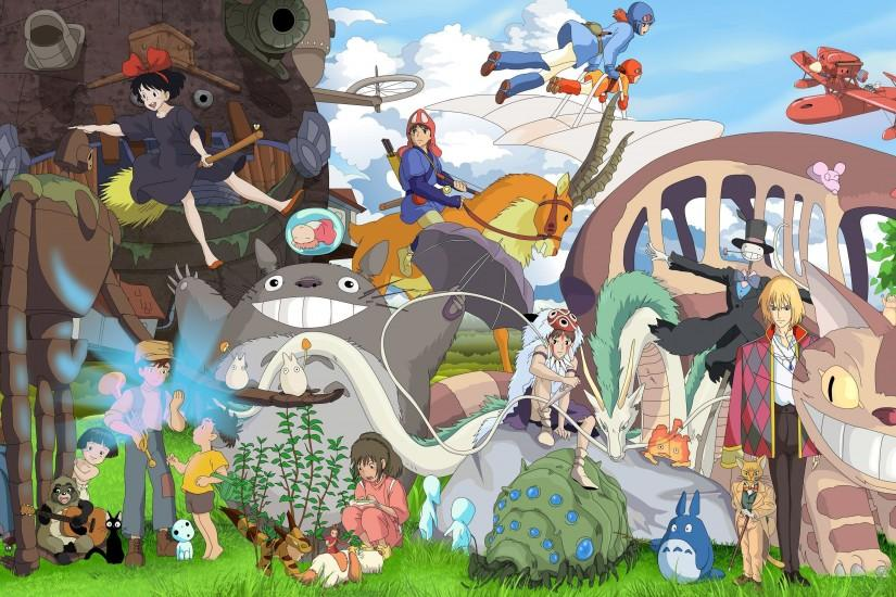 Studio Ghibli characters wallpaper - Anime wallpapers - #36913
