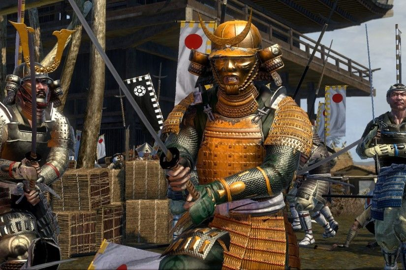 Shogun 2 Total War Samurai