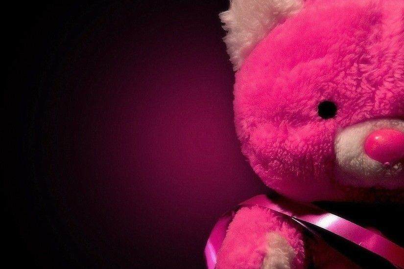 teddy-day red-teddybear-wallpaper ...