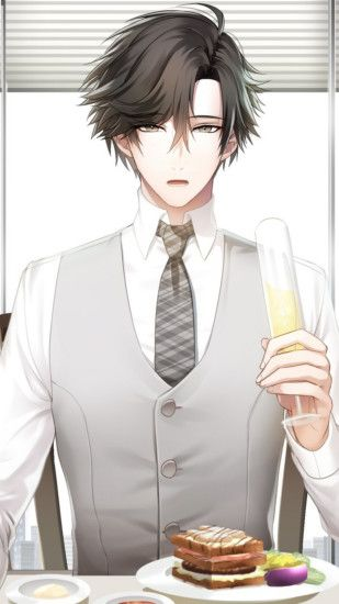 Does Jumin Han is Gay?? (But fo real he is my bb). Boy CharacterHandsome  BoysMystic MessengerAnime ...