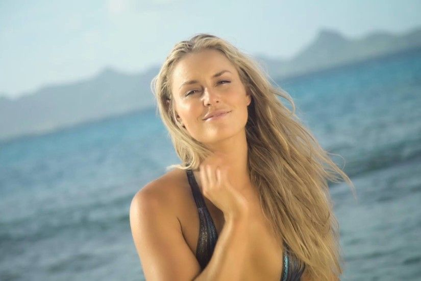 Lindsey Vonn: Bodypainting Swimsuit 2016 Special Cut -07 - Full Size