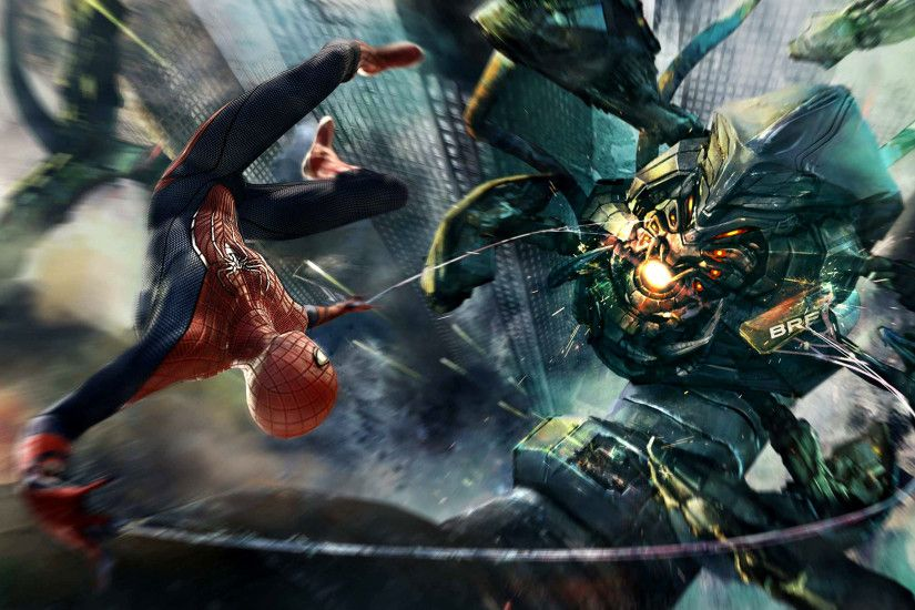 Amazing Spiderman Boss Fight