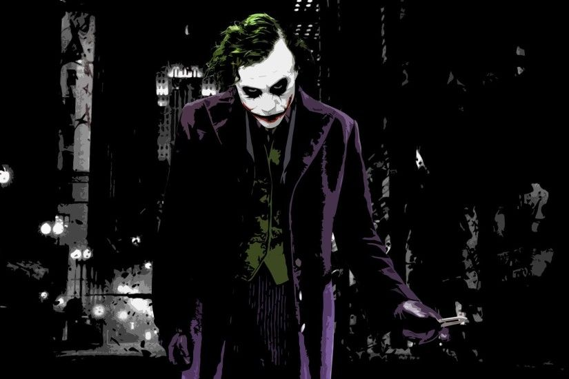 The Joker - The Dark Knight HD Wallpaper 1920x1080