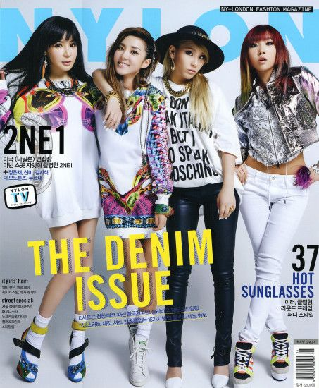 [SCANS] HD Scans of Beautiful 2NE1 For Nylon Korea's May Issue