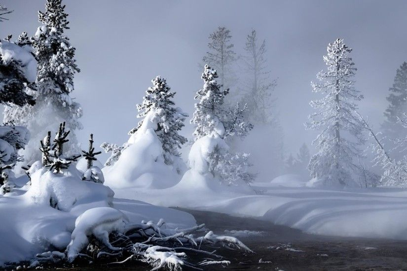 Snow Scenery Wallpapers Group (82 ) Winter Snow Scenes ...