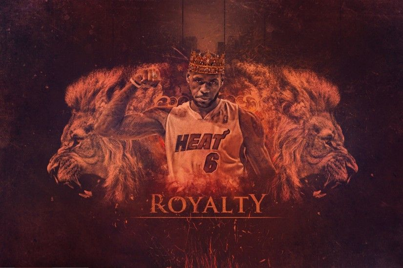 Royalty Lebron James 4K Wallpaper