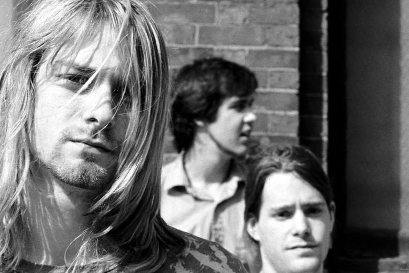 Nirvana With Chad Channing for 2560x1440