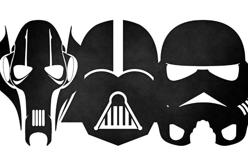 Darth Vader, Stormtrooper, Star Wars, Minimalism, Grievous, Colorful  Wallpapers HD / Desktop and Mobile Backgrounds