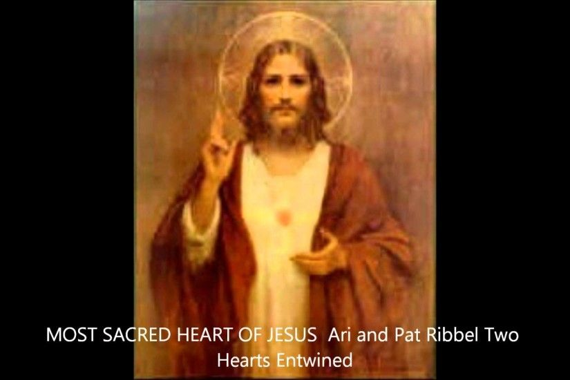 MOST SACRED HEART OF JESUS, Art and Pat Ribbel Two Hearts Entwined