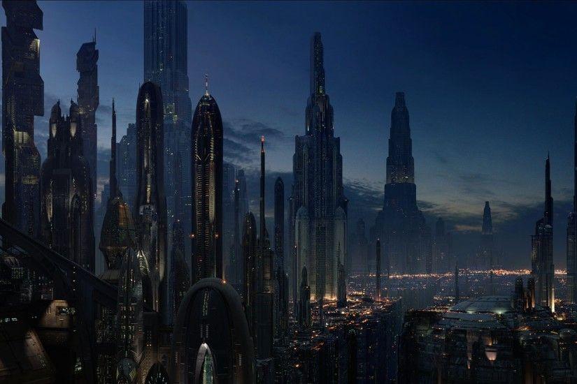 Sci Fi City Wallpaper
