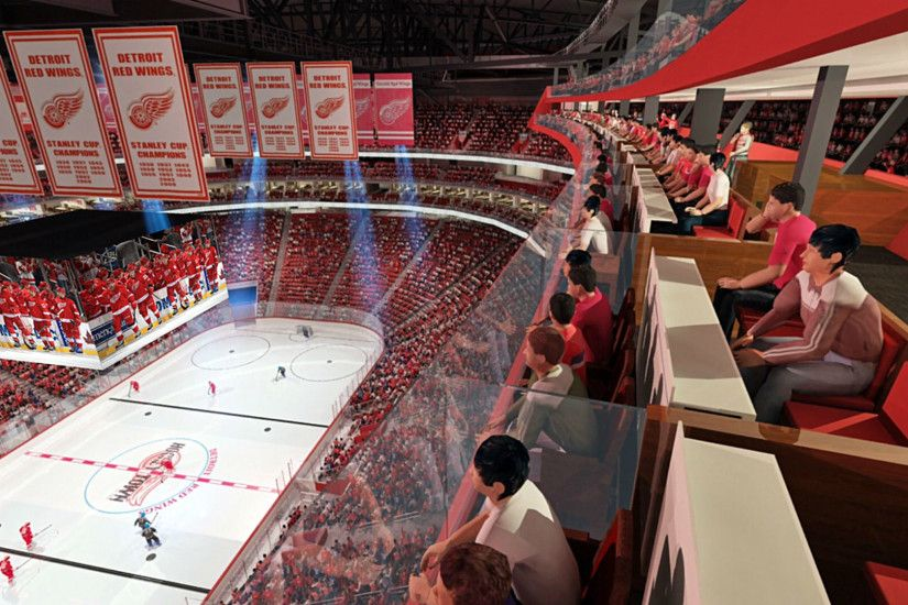 Venue News: Detroit Red Wings Plan Most-Expensive NHL Arena; Jaguars Eye  Additional Stadium Upgrades