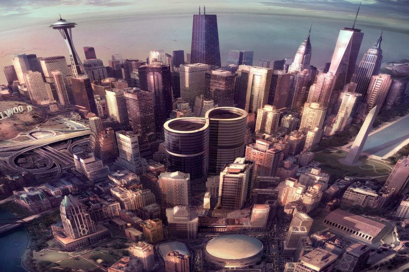 3 Foo Fighters: Sonic Highways HD Wallpapers | Backgrounds - Wallpaper Abyss