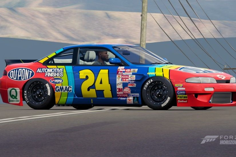 1999 Jeff Gordon Race Paint