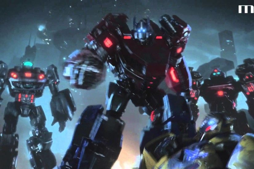 Transformers: Fall of Cybertron - Opening Cinematic 1080p HD