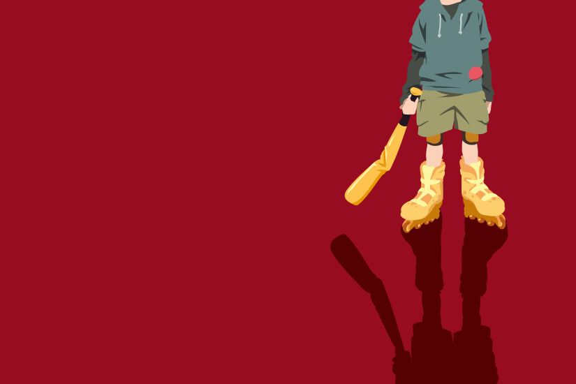 Shounen Bat (Paranoia Agent) Wallpaper by InsanityKitsune