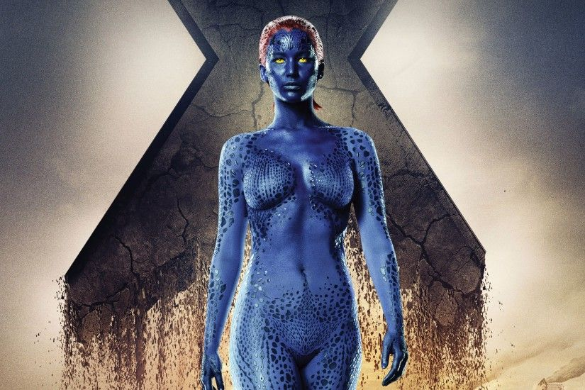 Mystique X-Men Apocalypse Movie 4K Wallpaper
