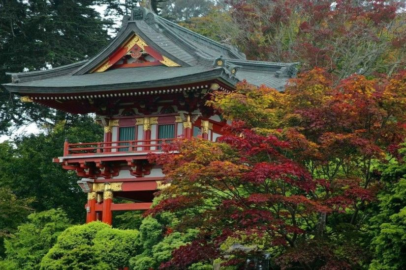 Temple Tag - Gate Francisco Garden Japanese Temple Tea Temples Asian  California San Full HD Wallpaper