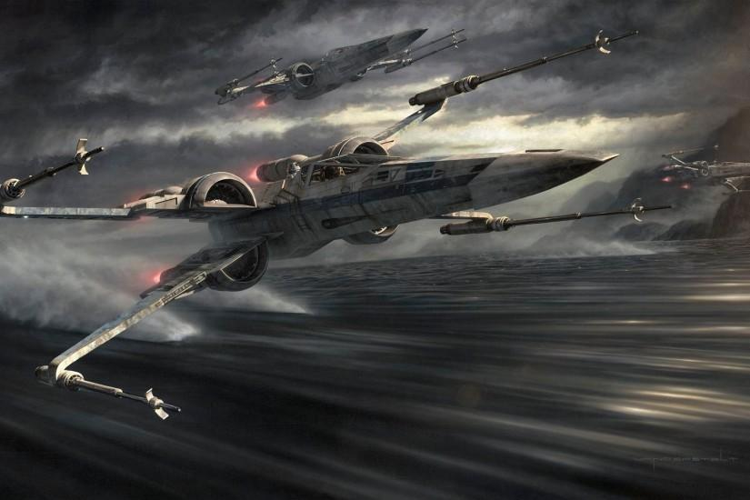 Jerry Vanderstelt's The Force Awakens Painting ...