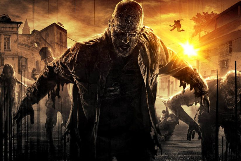 Dying Light - Zombie Attack 1920x1080 wallpaper