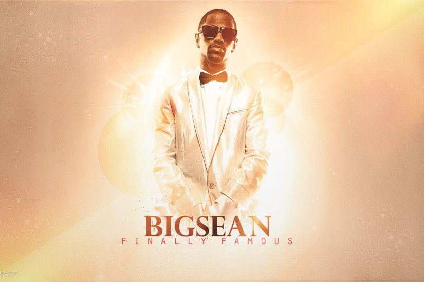 big sean finally famous widescreen wallpaper