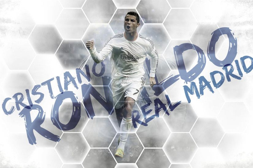Cristiano Ronaldo Real Madrid Desktop Background.