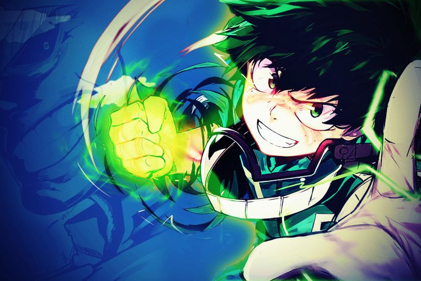 Anime - My Hero Academia Izuku Midoriya Wallpaper