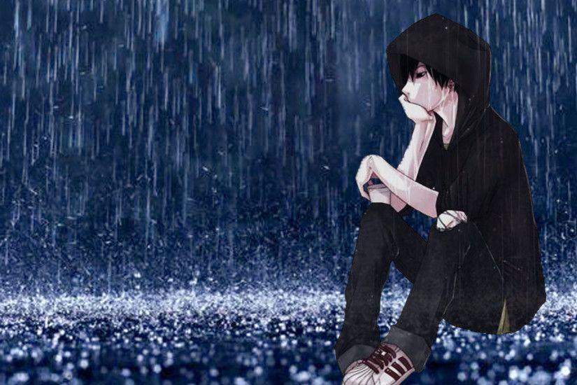 Sad Anime Boy Wallpaper ①