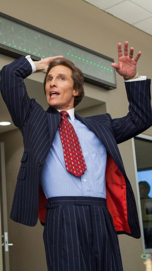 Movie The Wolf Of Wall Street Mark Hanna Matthew McConaughey. Wallpaper  656260