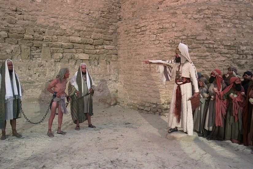 Movies Monty Python Jerusalem stoned pointing Life of Brian wallpaper |  1920x1080 | 304894 | WallpaperUP