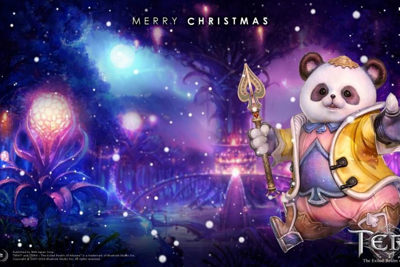 Tera(JP): Four Christmas Wallpapers Released