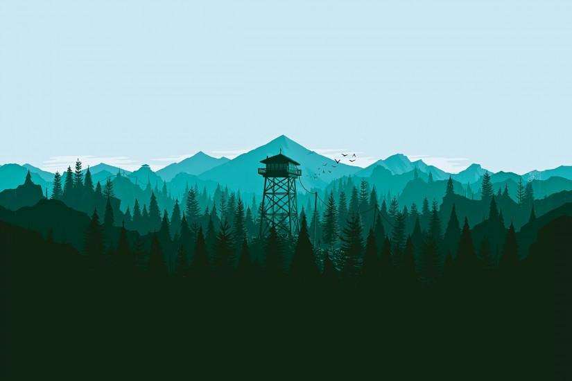 download firewatch wallpaper 2560x1600 windows 10