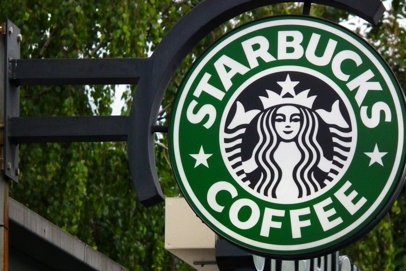 Starbucks Coffee Sign Widescreen Wallpaper 53510