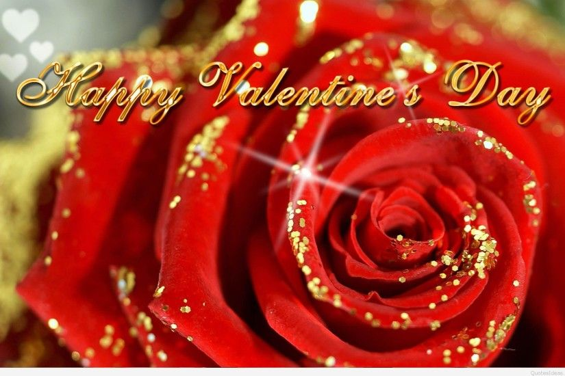 happy-valentines-day-ecard-wallpaper-rose-golden-glitter-