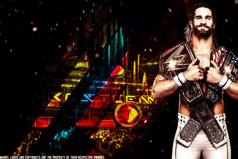 WWE Champion Seth Rollins hd wallpapers