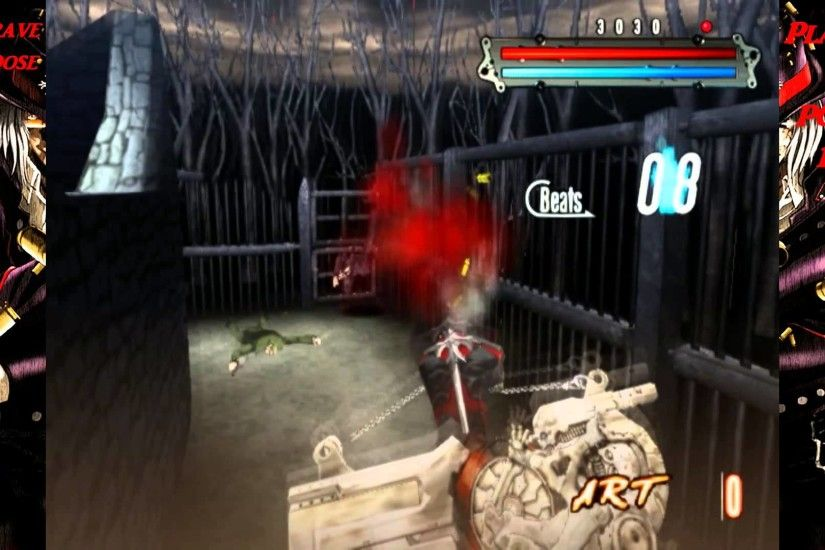 GunGrave: Overdose NTSC-US Played on the PC using PCSX2 1.3.1 Emulator Full  Speed 60 FPS HD1080p